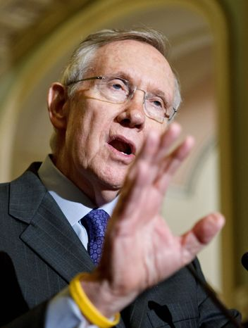 Senate Majority Leader Harry Reid had gone to bat for F. Harvey Whittemore to develop a new city, Coyote Springs, 60 miles northeast of Las Vegas. (Associated Press)