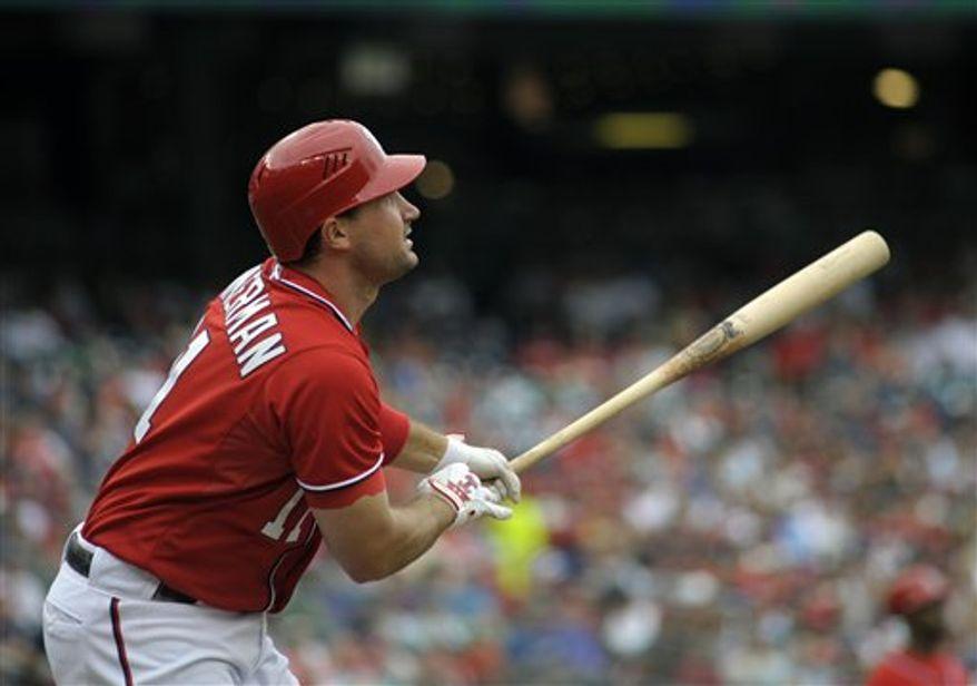 ** FILE ** Washington Nationals' Ryan Zimmerman. (AP Photo/Cliff Owen)