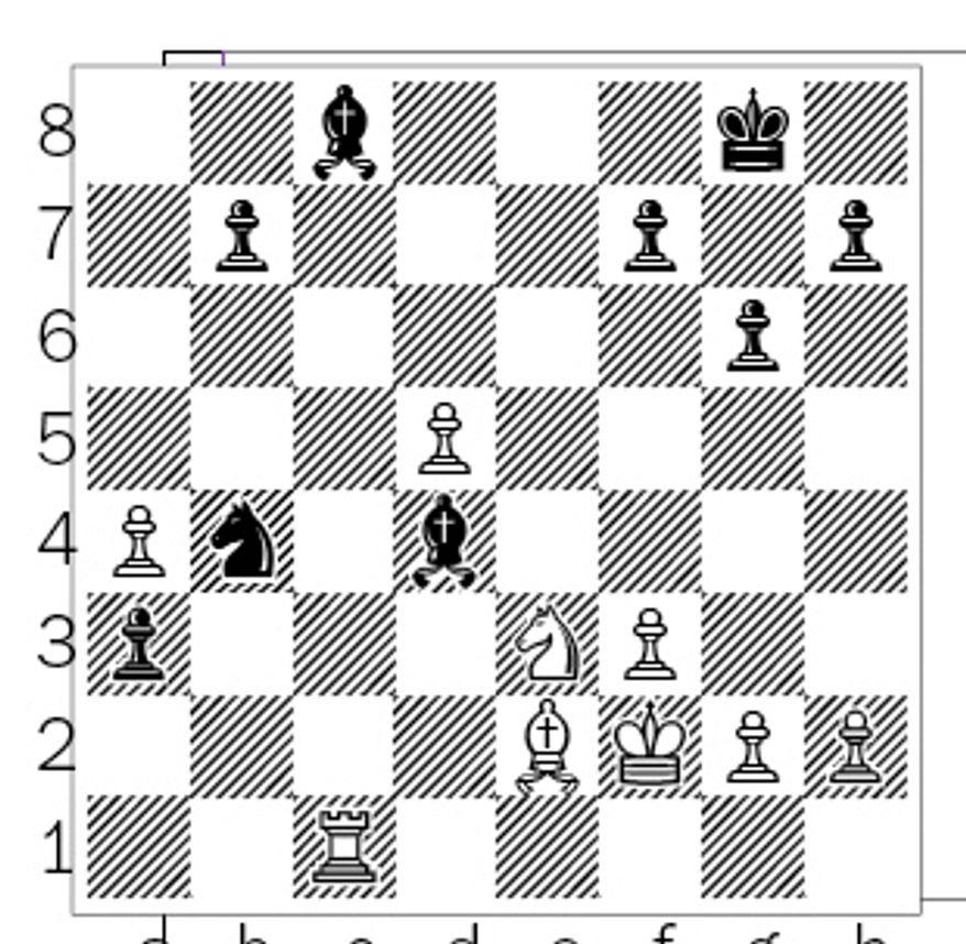 Gustafsson-Kramnik after 26. Rc1.