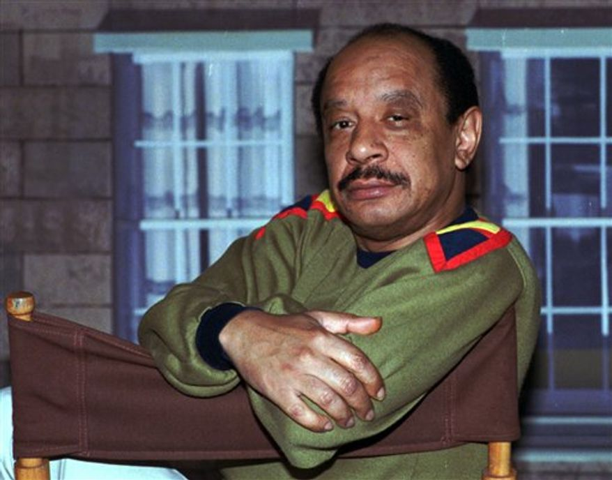 "**FILE** Actor Sherman Hemsley poses for a photo in Los Angeles in 1986. Mr. Hemsley, who made the irascible, bigoted George Jefferson of ""The Jeffersons"" one of television's most memorable characters and a symbol for urban upward mobility, was found dead July 24, 2012, at his El Paso, Texas, home. He was 74. (Associated Press)"