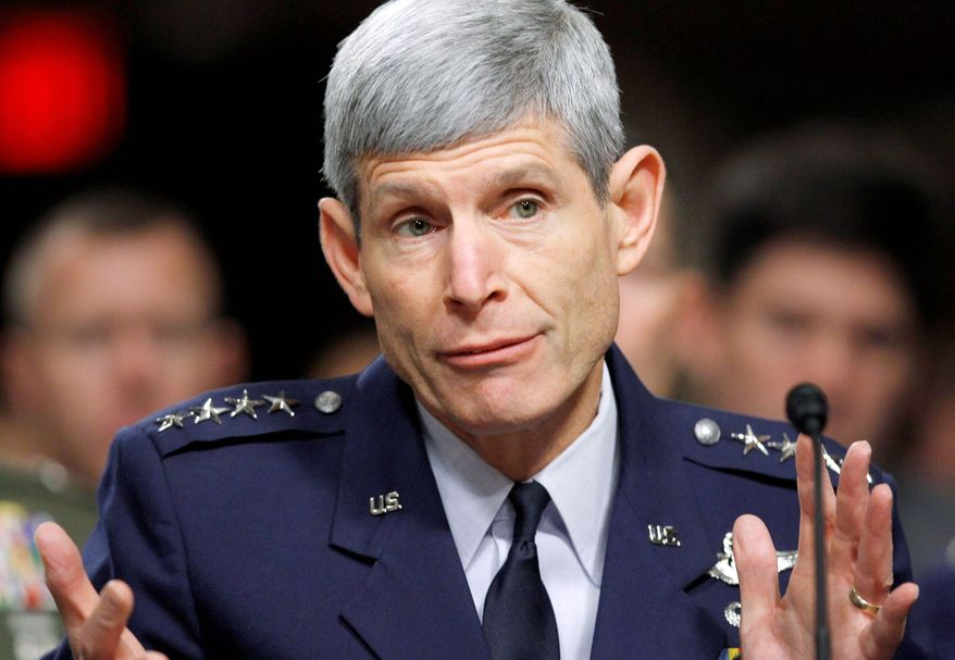 "Air Force Chief of Staff Gen. Norton A. Schwartz says the Air Force and Navy are developing ""a range of initiatives"" to counter high-technology and area-denial weaponry as part of the new Air Sea Battle Concept. (Associated Press)"