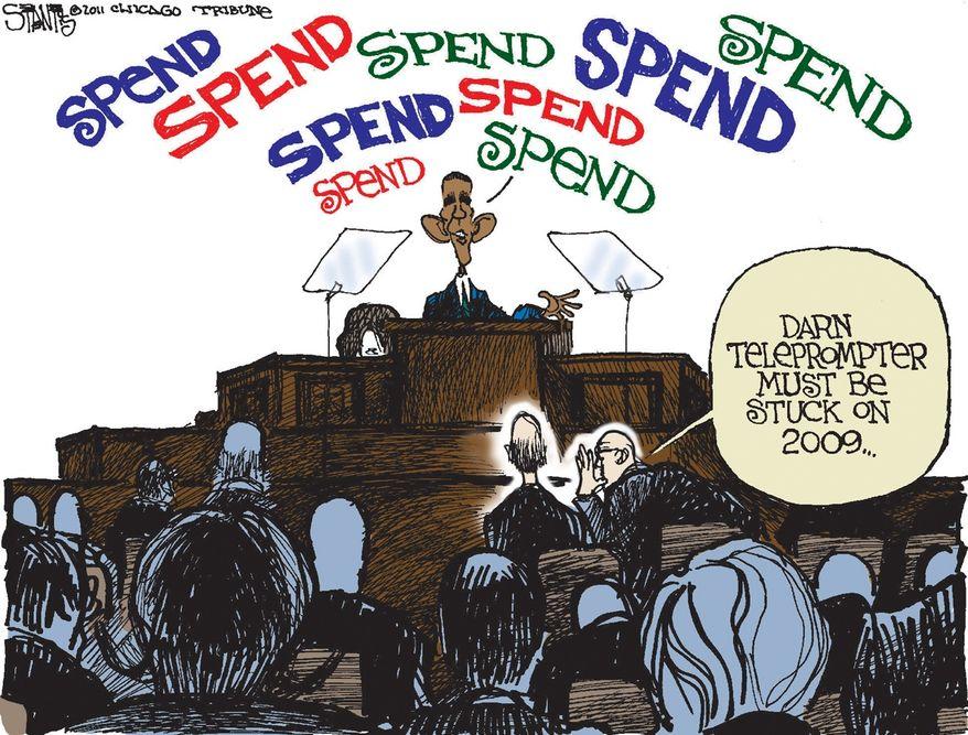 Illustration by Scott Stantis for the Chicago Tribune