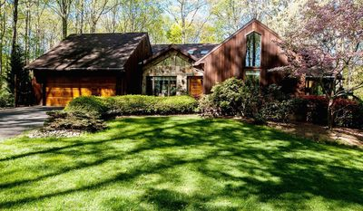 The home at 500 Raccoon Trail in Great Falls is on the market for $1,295,000. The home, built in 1978, has three finished levels, four bedrooms, three full baths and a powder room.