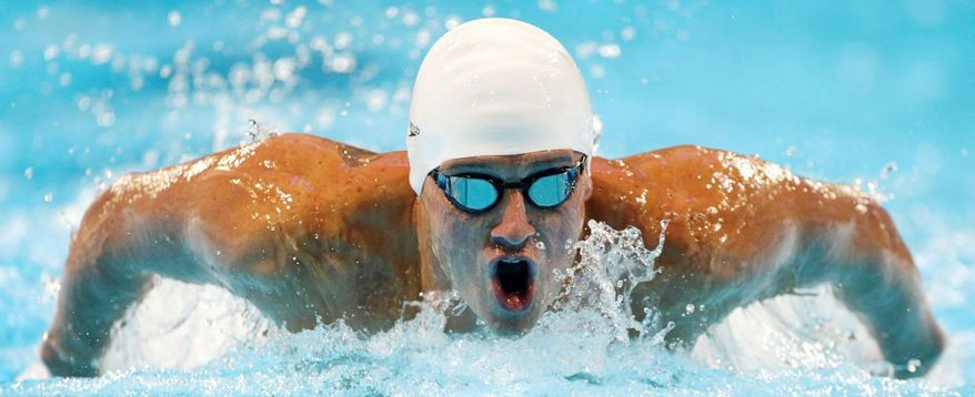 Michael Phelps and Ryan Lochte (pictured) figure to dominate the headlines in swimming and just may generate the biggest buzz in the entire London Games. (Associated Press)
