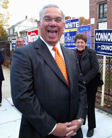 ** FILE ** This July 26, 2012, file photo shows Boston Mayor Thomas Menino. (Associated Press)