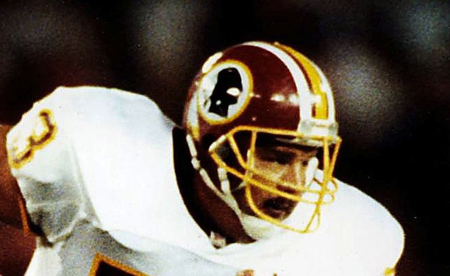 **FILE** Former Washington Redskins center Jeff Bostic (The Washington Times)