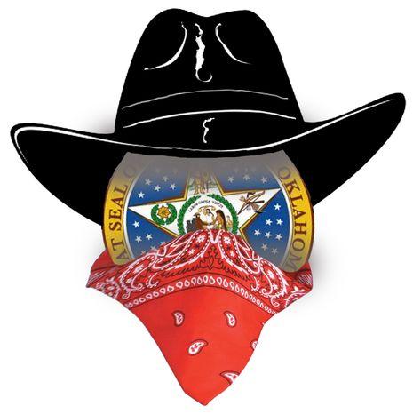 Illustration Oklahoma Bandit by John Camejo for The Washington Times