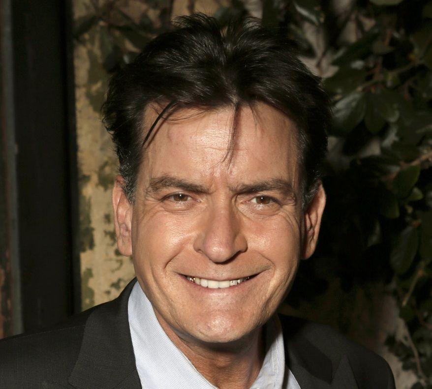 Actor Charlie Sheen attends the FX Summer Comedies Party at Lure in Los Angeles on June 26, 2012. (Todd Williamson/Invision/Associated Press) **FILE**