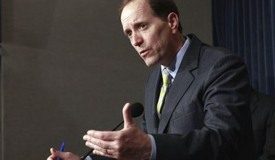 **FILE** Rep. Dave Camp, Michigan Republican (Associated Press)