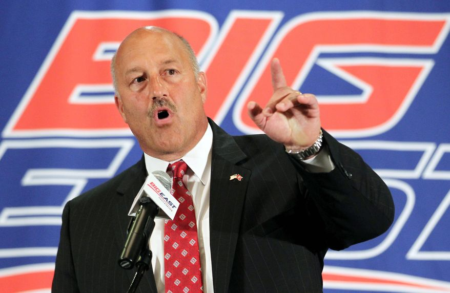 associated press  Temple coach Steve Addazio and his Owls have rejoined the Big East, but other conference schools are believed to be exploring their options. Pittsburgh and Syracuse are bound for the ACC in 2013.