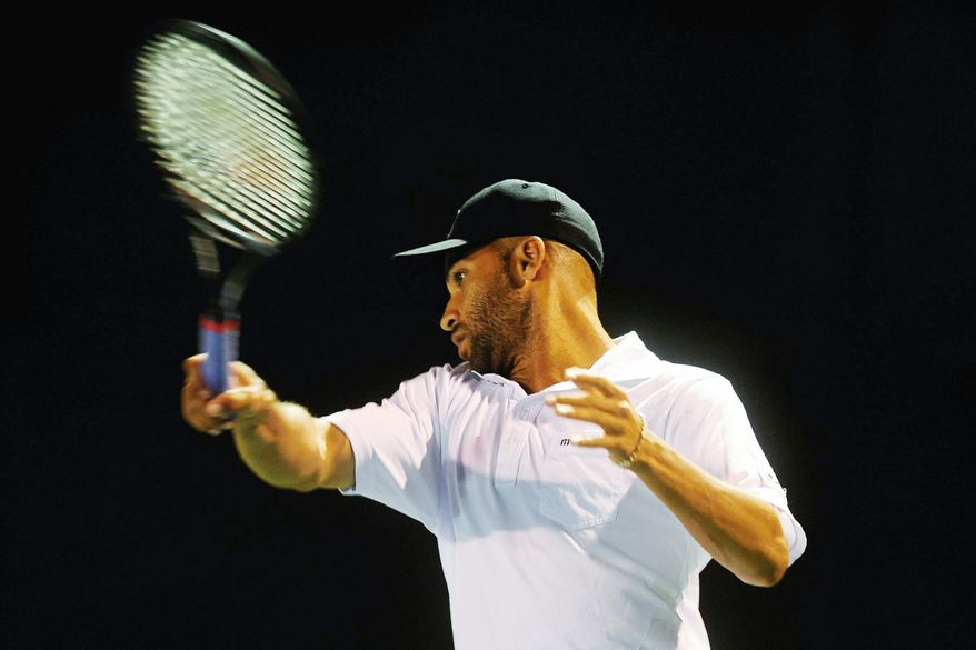 James Blake won the 2002 Legg Mason Classic at Rock Creek Park, defeating five-time tournament champion Andre Agassi along the way. (Ryan M.L. Young/The Washington Times)