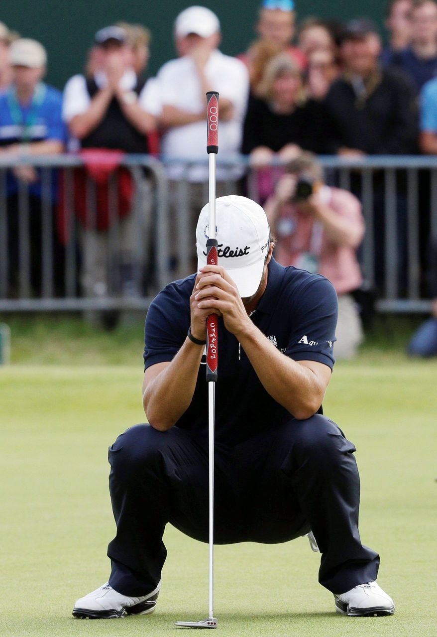 Adam Scott has moved past his British Open collapse at Royal Lytham & St Annes, where he blew a four-shot lead with four holes to play. (Associated Press)