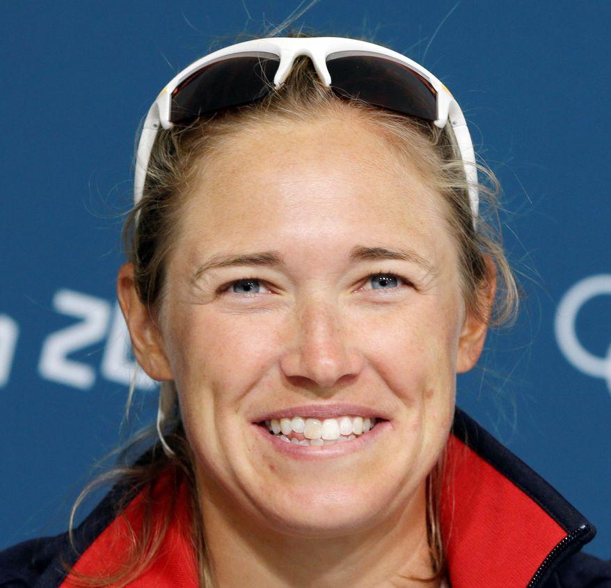 Annapolis windsurfer Farrah Hall (Associated Press)