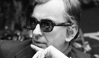 **FILE** Author Gore Vidal tosses barbs in all directions as he discusses Hollywood unions, politics, lecturing and publicizing books during an interview in Los Angeles on Dec. 9, 1974. Vidal died July 31, 2012, at his home in Los Angeles. He was 86. (Associated Press)