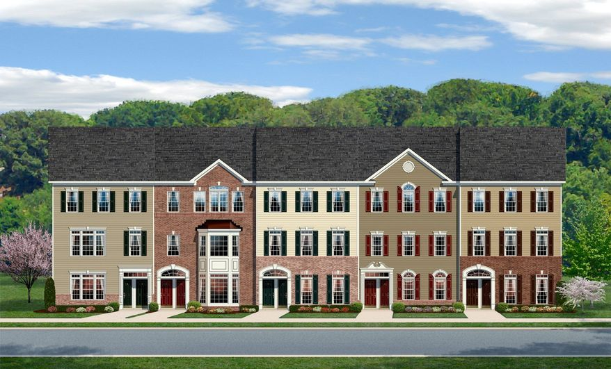 Ryan Homes is building town homes and condominiums at the Villages at Dakota Crossing in the District, located on Fort Lincoln Drive Northeast. The homes have 1,200 to 2,218 finished square feet, with base prices from $289,990 to $424,990.