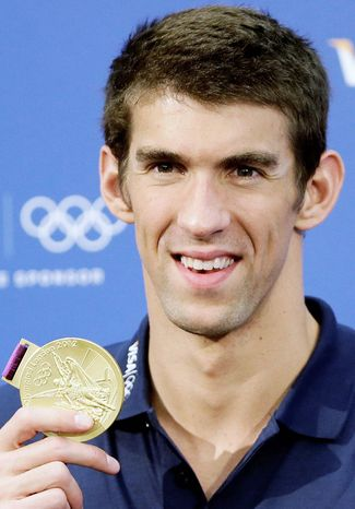 associated press Michael Phelps needs to work on ignoring that 6 a.m. wake-up habit he followed for years in training.