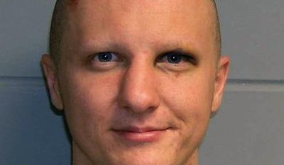 ** FILE ** This photo released Tuesday, Feb. 22, 2011, by the U.S. Marshal's Service shows Jared Lee Loughner, the suspect in the Tucson shooting rampage that killed six people and left several others wounded, including then-U.S. Rep. Gabrielle Giffords. (AP Photo/U.S. Marshal's Office, File)