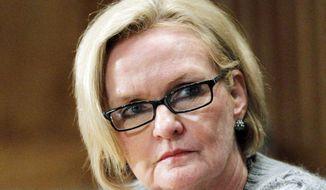 Sen. Claire McCaskill, Missouri Democrat (Associated Press)