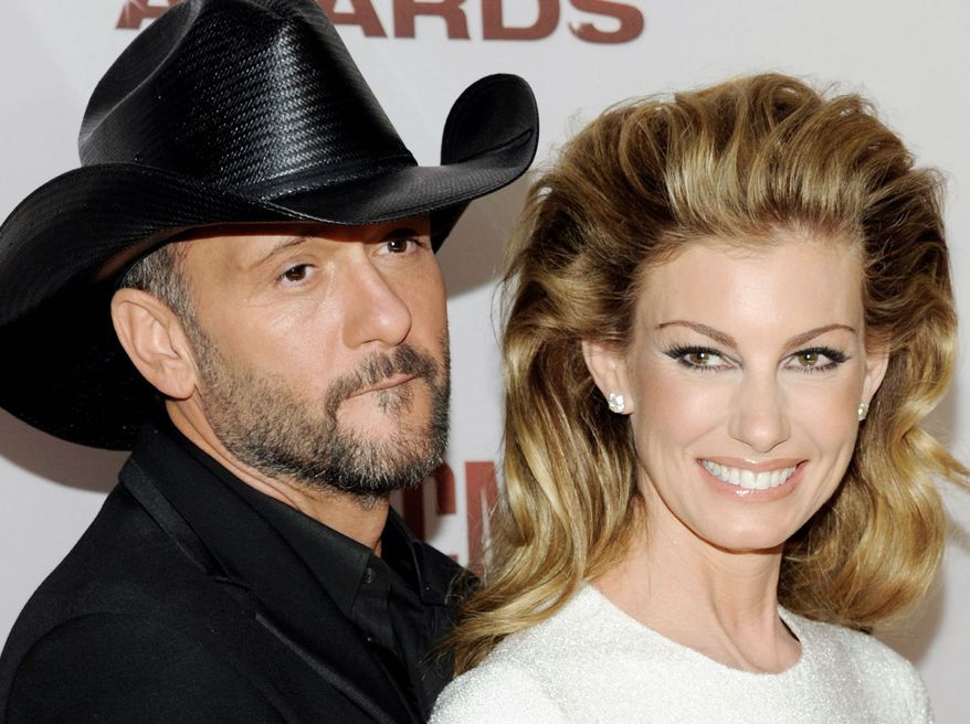 Starting Dec. 7, Tim McGraw and Faith Hill will do a 10-weekend run of shows in Las Vegas, the first time in six years they will perform together in the U.S. (Associated Press)