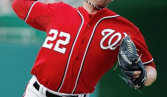associated press  Using a new change-up grip, Nationals reliever Drew Storen secured his first save of the year Sunday in a 4-1 win over Miami.