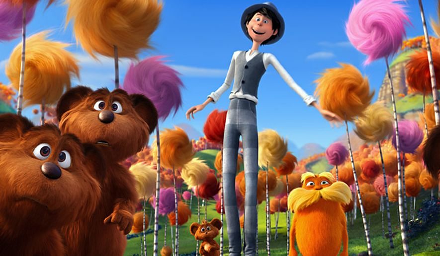 Learn about the characters and creatures of Truffula Valley and Thneedville, and even plant a Truffula Tree seedling in the Blu-ray release of Dr. Seuss' The Lorax.