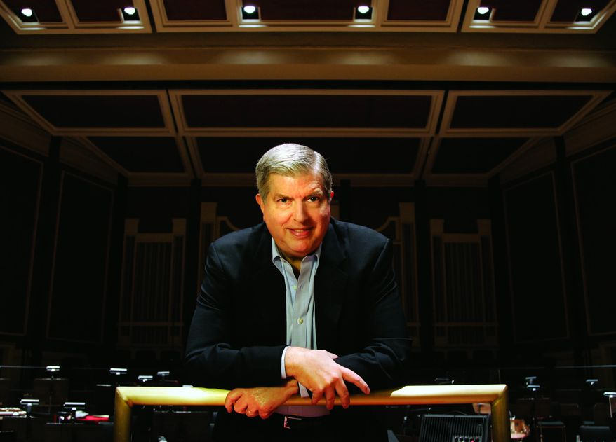 """**FILE** This undated file image originally provided by Columbia Artists Management Inc. LLC shows Marvin Hamlisch, a conductor and award-winning composer best known for the torch song """"The Way We Were."""" (Associated Press/Columbia Artists Management Inc. LLC)"""
