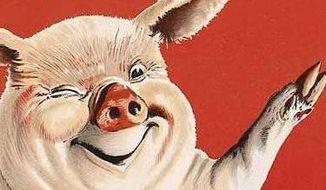 Innocent pig