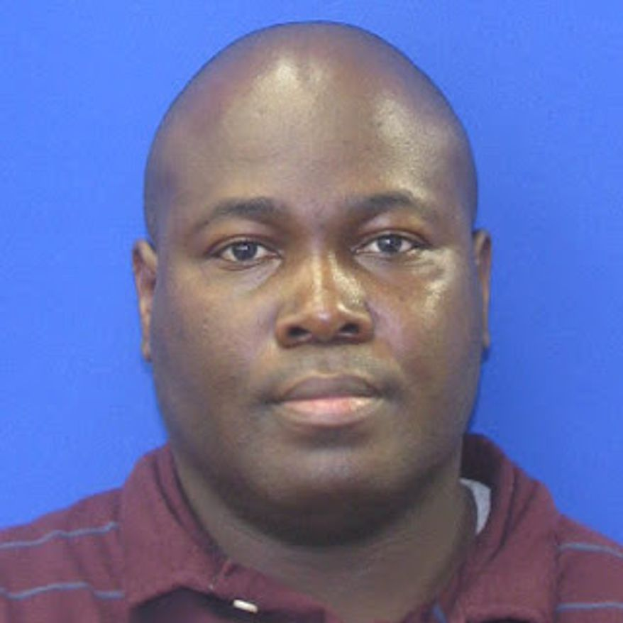 Kobina Ebo Abruquah. Photo from the Prince George's County Police Department.