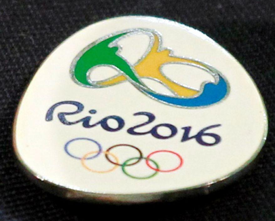 Rio 2016 Olympics logo. (Associated Press)