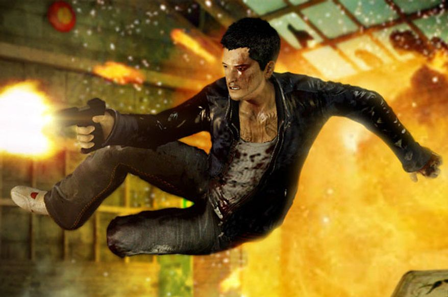 Wei Shen in action in the video game Sleeping Dogs.