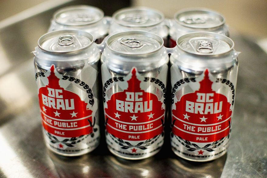 "Food: DC Brau at Beer Week For several years now, every microbrew worth drinking has had a rep in D.C. It was only a matter of time before the District got a brewery that could compete with beers from outside the realm. That brewery is DC Brau, the first production brewery located in Washington, D.C. The various brews are distinct from their peers due to the fact that they come in cans, and are named for seminal events in D.C. history. The Corruption IPA, for instance, is a reference to Henry Clay's alliance with John Quincy Adams, termed ""The Corrupt Bargain""; The Citizen refers to the passage of the 23rd Amendment in 1963, which gave D.C. residents the right to vote for president and vice president. As part of D.C. Beer Week, D.C. Brau will be unveiling its newest beer, Embers of the Deceased, made in cooperation with Bluejacket Brewery, opening later this year in Southeast. August 17 at ChurchKey, 1337 14th St. NW. Phone: (202) 567-2576. Web: churchkeydc.com."