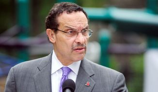 ** FILE ** D.C. Mayor Vincent C. Gray (Ryan M.L. Young/The Washington Times/File)