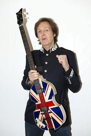 **FILE** Paul McCartney (MPL Communications via Associated Press)