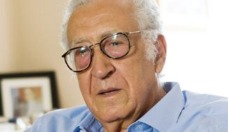 Lakhdar Brahimi (Associated Press)