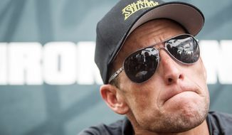 Lance Armstrong contended in his lawsuit that the U.S. Anti-Doping Agency lacked jurisdiction to pursue a case against him and its arbitration process violated his constitutional rights. (Associated Press)