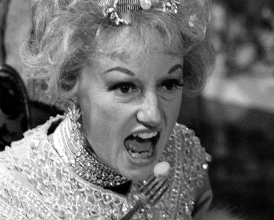 In this May 20, 1966 file photo, comedian Phyllis Diller appears in character in the ABC-TV comedy series ''The Pruitts of Southampton''. (AP Photo/File)