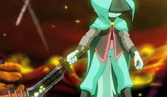 A mysterious, long-of-ear-but-short-of-memory warrior stars in the video game Dust: An Elysian Tail.
