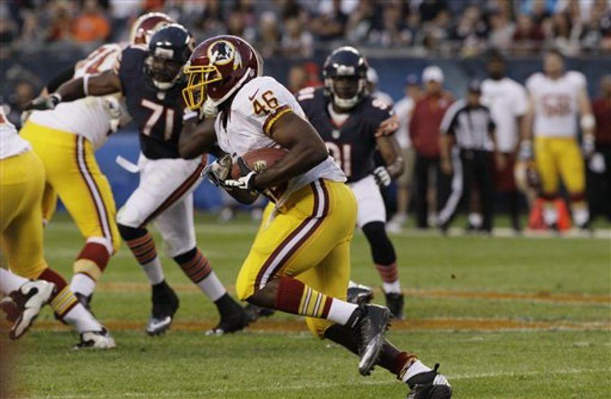 Redskins running back Alfred Morris/Associated Press