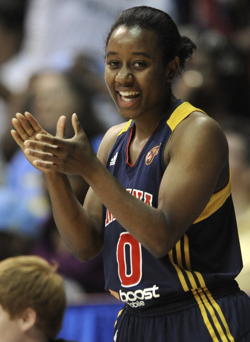 Mystics guard Shannon Bobbitt, shown with the Fever, is averaging 7.7 assists per 40 minutes and is sixth in assist-to-turnover ratio (2.1). (Associated Press)