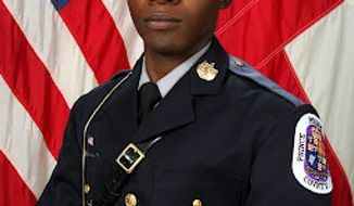 Prince George's County Police Officer Adrian Morris. Photo from Prince George's County police.