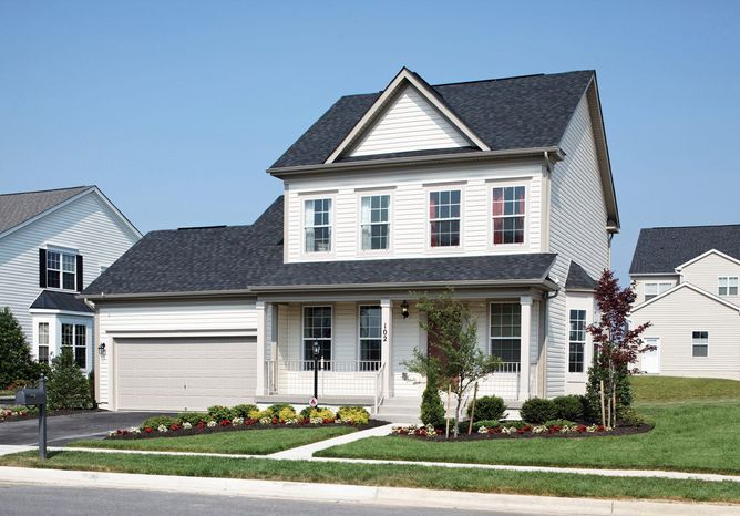 Brookfield Homes is building more than 1,000 single-family homes and town homes at Snowden Bridge in the planned community of Stephenson. The Andover model, with 1,506 square feet, is priced from $199,990.