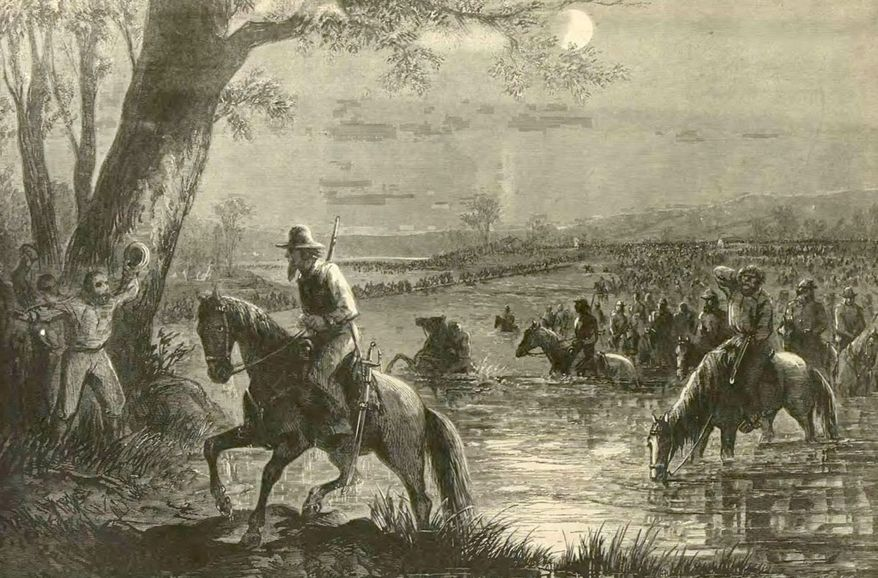Military historian Gregg Clemmer will lead an all-day tour Saturday, demonstrating how Civil War troops crossed the Potomac River.
