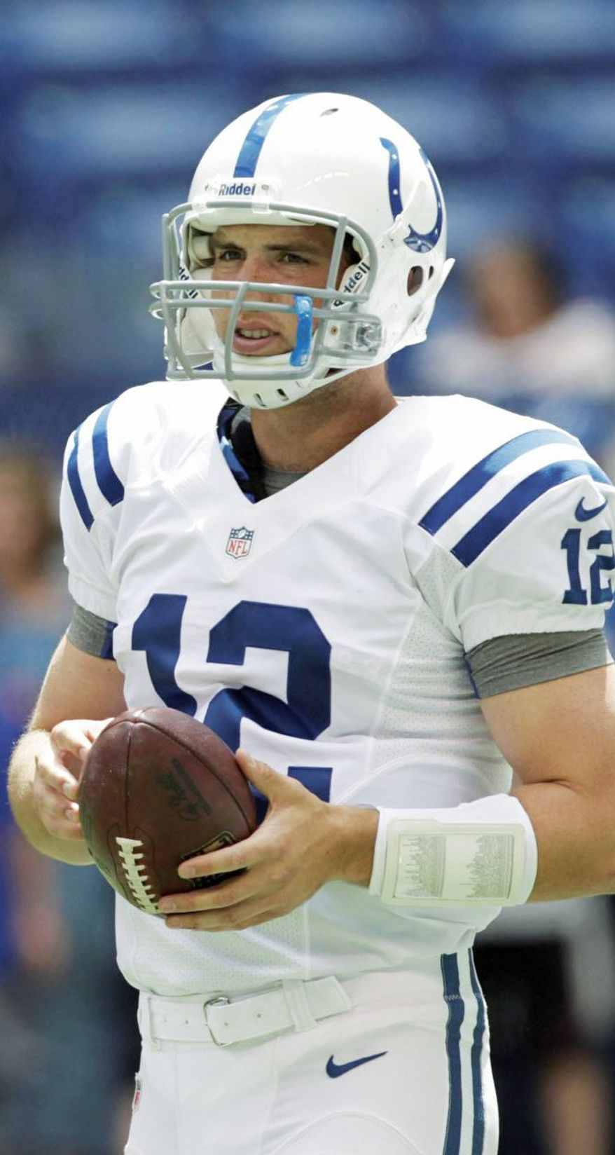 Andrew Luck was taken first in 2012 draft by the Indianapolis Colts. (Associated Press)