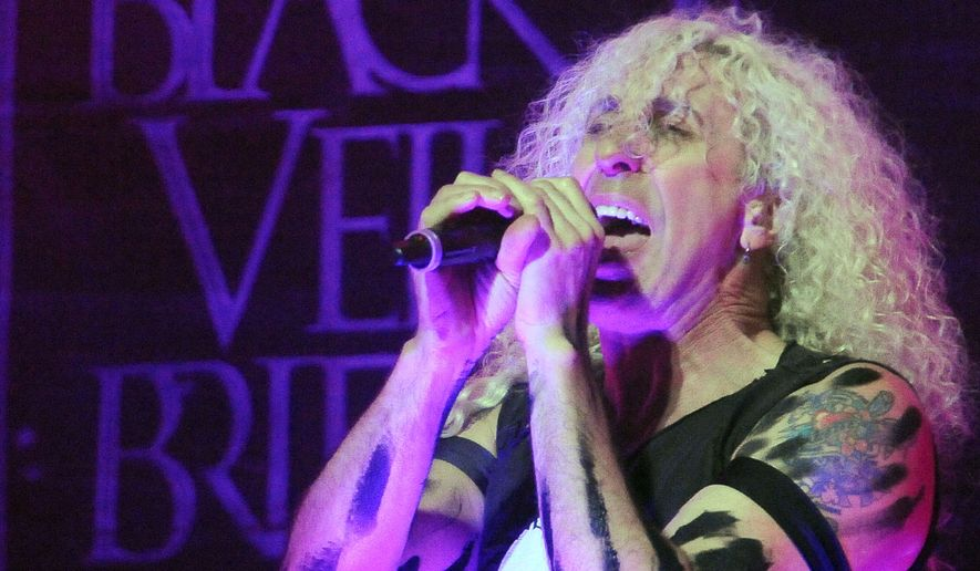 Twisted Sister frontman Dee Snider performs at the fourth annual Revolver Golden Gods Award Show at Club Nokia in Los Angeles on Wednesday, April 11, 2012. (AP Photo/Katy Winn)