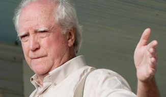 """Actor Scott Wilson, in a scene from the second season of """"The Walking Dead,"""" faces drunken driving charges in Georgia after his arrest Aug. 18 in Peachtree City. (AMC via Associated Press)"""