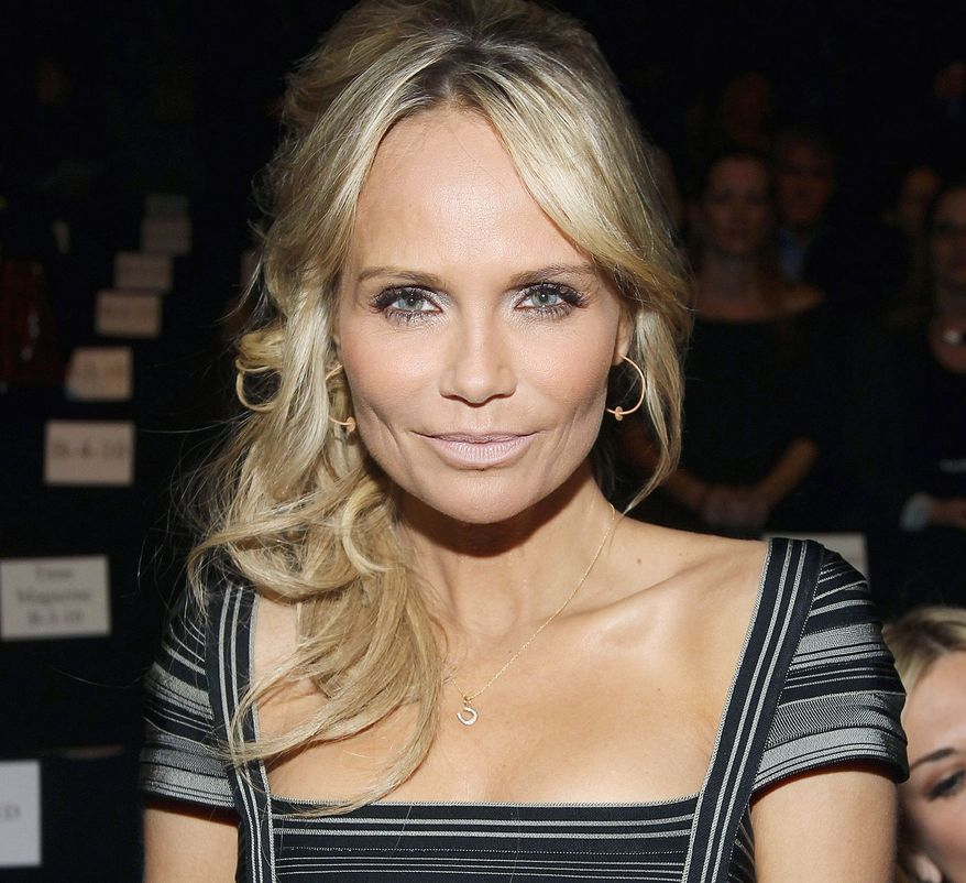 ** FILE ** In this Feb. 11, 2012 photo, actress Kristin Chenoweth attends the Herve Leger Fall 2012 show during Fashion Week in New York. The American Country Awards announced that Chenoweth and country star Trace Adkins are returning as hosts of the 3rd American Country Awards. (AP Photo/ Donald Traill)