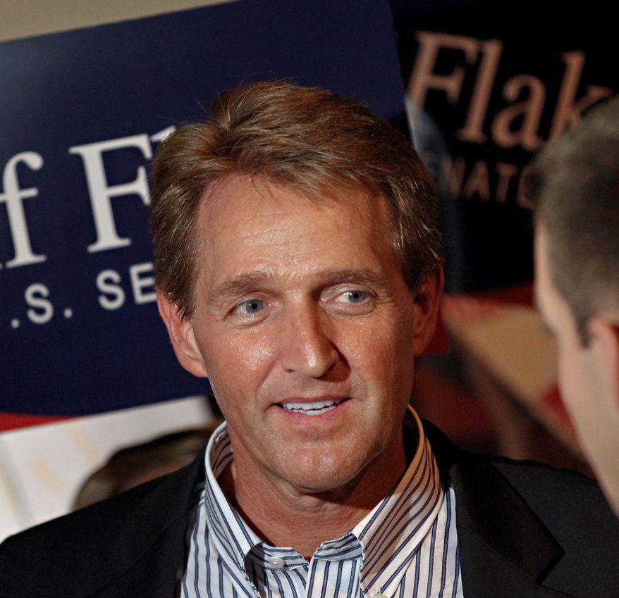 Jeff Flake (AP photo)