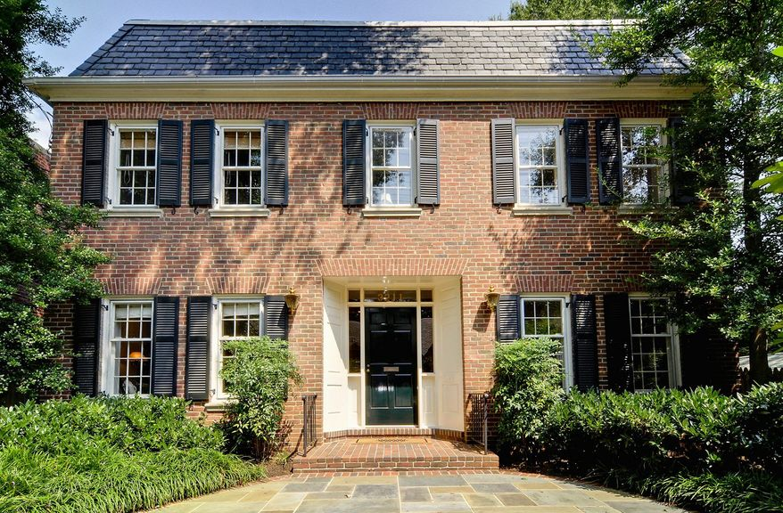 The home at 3211 44th St. NW in Wesley Heights is on the market for $1,595,000. The Colonial-style home, built in 1962, has three finished levels with five bedrooms, three full baths and a powder room.