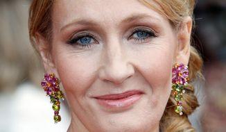 J.K. Rowling (AP photo)