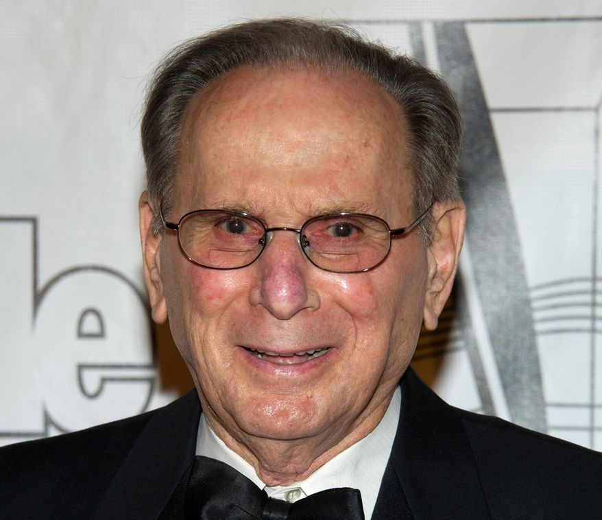 Lyricist Hal David arrives at the 42nd annual Songwriters Hall of Fame Awards in New York in June 2011. (Associated Press)